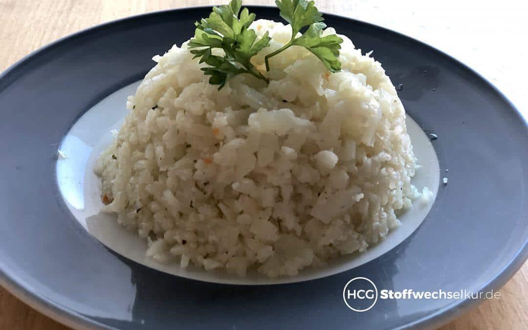 Blumenkohl-Reis als leckere Alternative